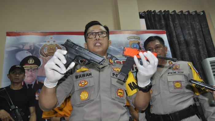 Polres Sigi Temukan Senjata Api Rakitan saat Tangkap Dua Pengedar Sabu-sabu