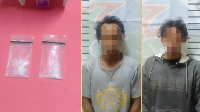 Dua Pria Tersangka Penyalahguna Narkoba di Sigi Diciduk Polisi