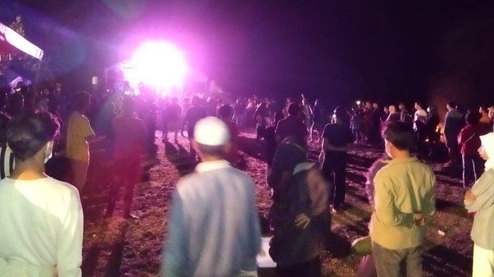 Gelar Konser Musik di Tengah PPKM Level 3, Polisi Bubarkan Kerumunan di Pantai Maninang Buol