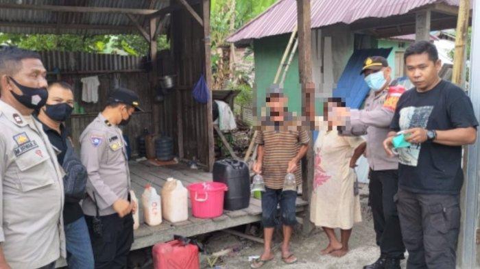 Polisi Sita Ratusan Liter Miras Cap Tikus, Hasil Razia di Dolo Sigi