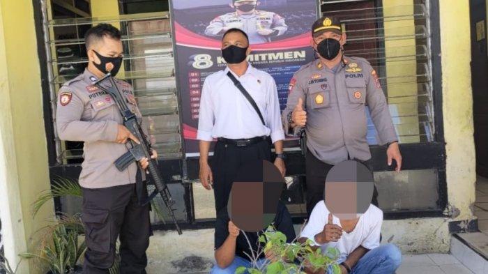 Curi Dua Ekor Sapi, Dua Warga di Sigi Digelandang ke Kantor Polisi