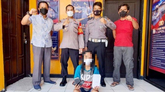 Perempuan di Kayumalue Palu Diduga Curi Emas untuk Beli Narkoba, Akhirnya Diringkus Polisi