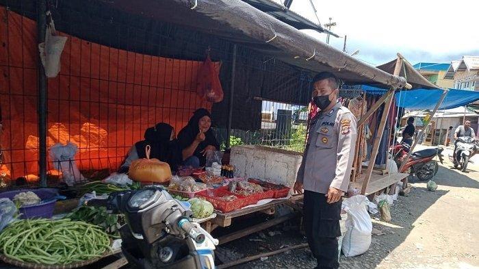Patroli di Tempat Rawan Gangguan Kamtibmas, Polsek Una-una Ingatkan Warga Waspada