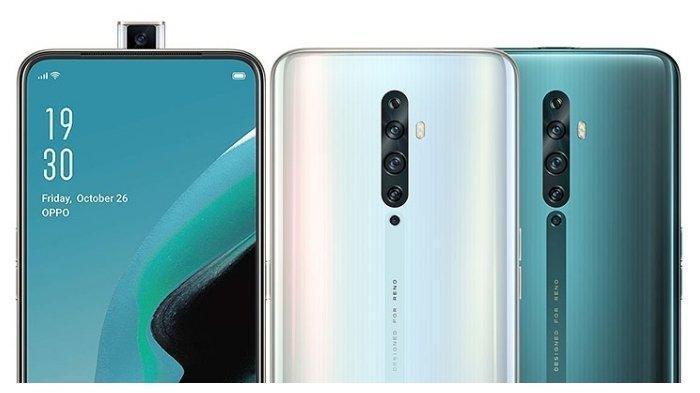 Daftar Harga HP Oppo Terbaru Desember 2019, Ponsel Reno 2 RAM 8GB Seharga Rp 7,9 Jutaan