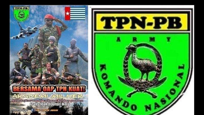 Viral KKB OPM Rekrut Tentara Baru untuk Basmi TNI & Polri, Pasang Poster Bergambar Jet Tempur F-16