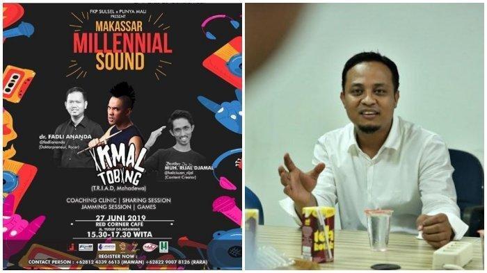 Disebut Ganggu Tidur Siang Wakil Gubernur Sulawesi Selatan, Acara Musik di Makassar Dibubarkan