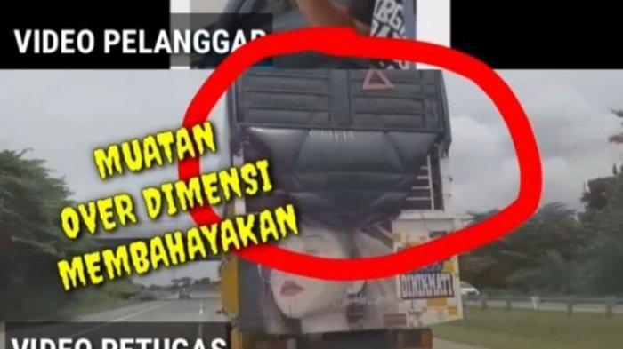 Viral Video Truk Kejar-kejaran Lawan Mobil Polisi di Pasuruan, Ternyata Ada Over Dimensi yang Bahaya