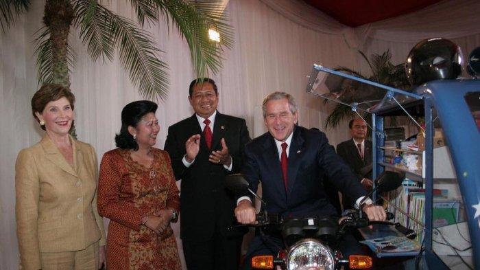 SBY Bagikan Kisah Persahabatan dengan George W. Bush dan Rencana Pembangunan Museum Kepresidenan