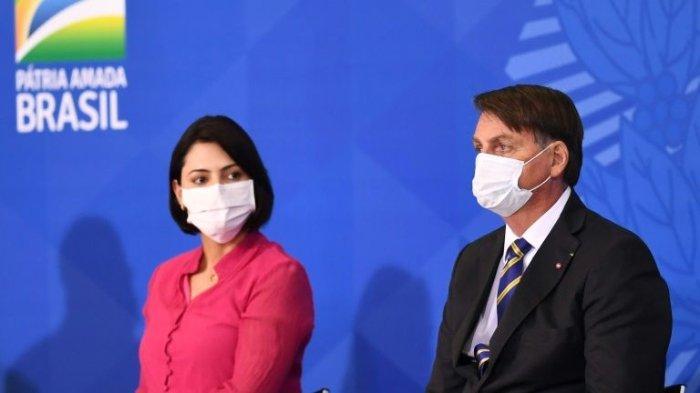 Ibu Negara Brasil, Michelle Bolsonaro Dinyatakan Positif Virus Corona
