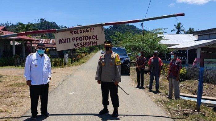 Masuk Zona Orange, Wabup dan Kapolres Buol Cek PPKM di 2 Desa di Kecamatan Bukal