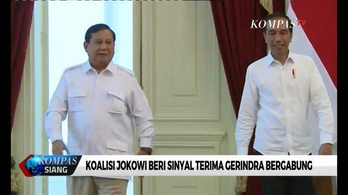 Prabowo Subianto Didampingi Edhy Prabowo Penuhi Undangan Jokowi ke Istana
