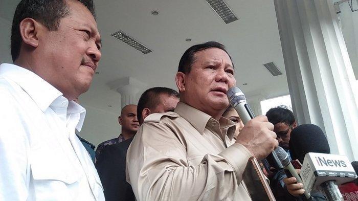 Prabowo Subianto Tunjuk Sjafrie Sjamsoeddin Jadi Penasihat Khususnya di Kementerian Pertahanan