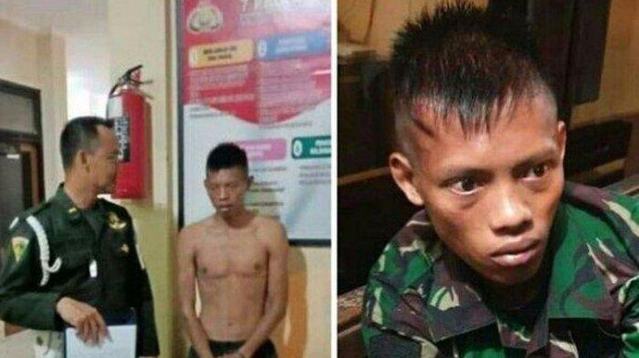 Polsek Semarang Barat Ringkus TNI Gadungan yang Curi Sepeda Motor Milik Warga