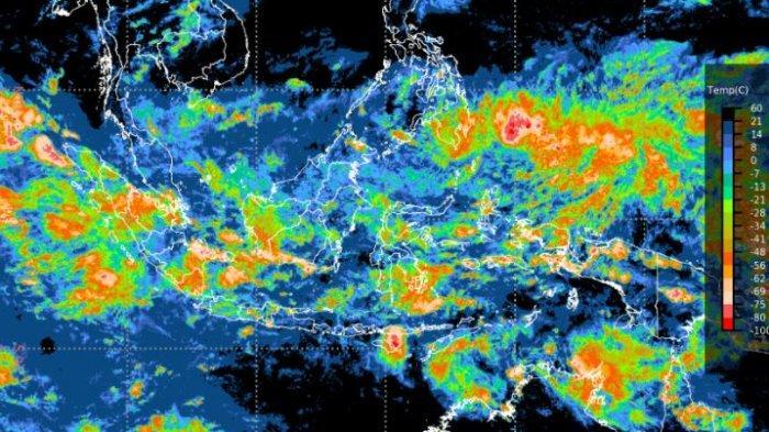 Peringatan Dini Cuaca Ekstrem BMKG, Rabu 5 Mei 2021: Waspada Hujan Lebat di Sumbar dan Sulteng
