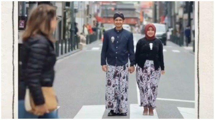 Foto Pre-wedding di Jepang dengan Pakaian Adat Jawa Jadi Viral, Warga Lokal Beri 2 Respon Ini