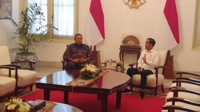 SBY Temui Presiden Jokowi di Istana Merdeka