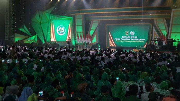 Hadiri Harlah PPP, Presiden Jokowi Minta Kader PPP Jaga Persatuan