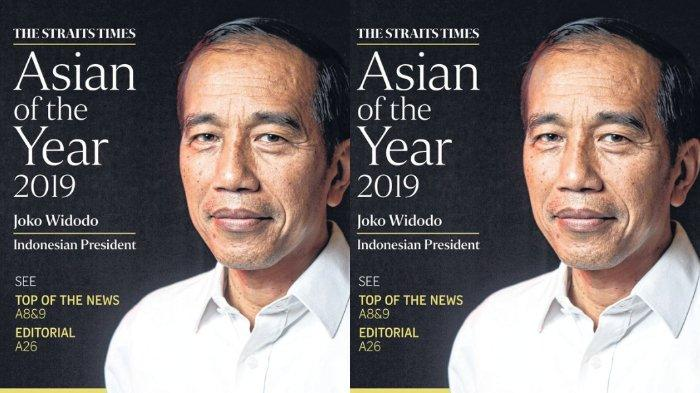 Media Singapura The Straits Times Nobatkan Presiden Jokowi Sebagai Asian of The Year 2019