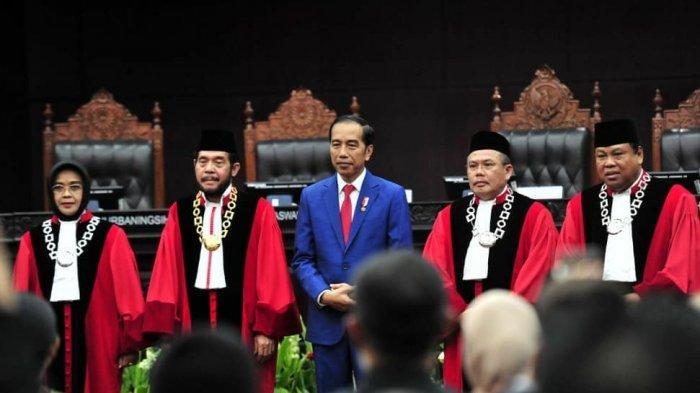 Presiden Joko Widodo Apresiasi Kinerja MK atas Penyelesaian Sengketa Hasil Pemilu 2019