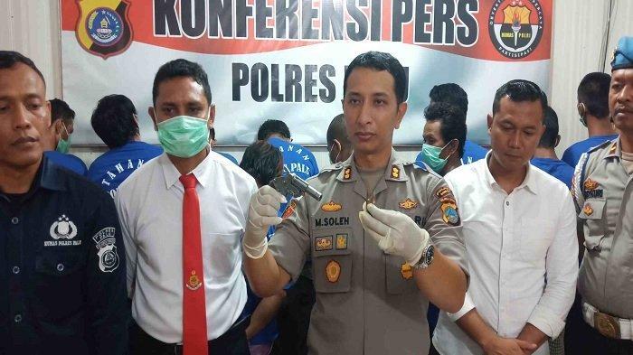Miliki Pistol Rakitan Tanpa Izin, Pria di Palu Diciduk Polisi dan Terancam 20 Tahun Penjara