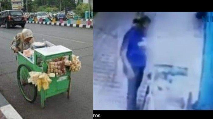 Aksi Pria Tega Curi Uang Rp45 Ribu Milik Nenek 65 Tahun Penjual Gorengan Jadi Viral di Media Sosial