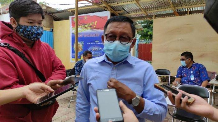 Rektor Untad Dorong Vaksinasi 2 Tahap untuk Mahasiswa Baru