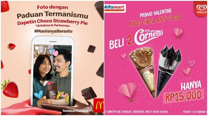 Catat! Berikut 7 Promo yang Bisa Kamu Dapatkan Pada Hari Valentine 14 Februari Mendatang