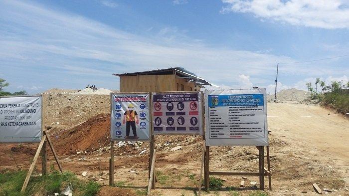 Pembangunan Gedung Baru Dinas Kearsipan dan Perpustakaan Kota Palu Telan Dana Rp 7 Miliar