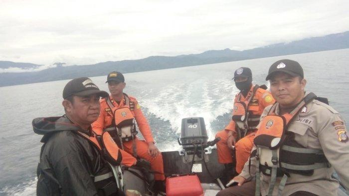 Pencarian Hari Kedua, Nelayan Hilang di Perairan Teluk Tomini Kecamatan Bunta Belum Ditemukan