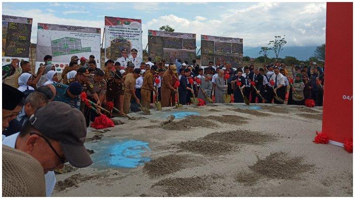 1.000 Huntap untuk Penyintas Mulai Dibangun di Tondo, Kota Palu