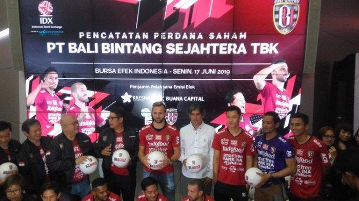 Bali United Resmi Menjadi Klub Olahraga Pertama di ASEAN yang Melantai di Bursa