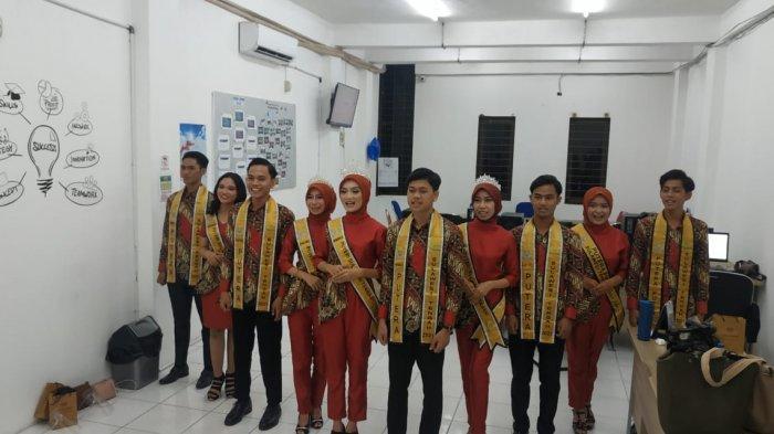 Putra Putri Sulawesi Tengah (Sulteng) 2021 berkunjung ke Redaksi TribunPalu.com, Jl Emmy Saelan, Kecamatan Tatura Selatan, Kota Palu, Sulawesi Tengah, Senin (31/5/2021).