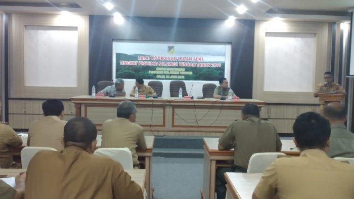 Dinas Kehutanan Pemprov Sulteng Godok Peraturan Daerah Terkait 8 Area Hutan Adat