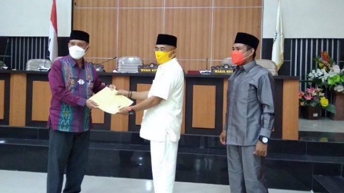 Rapat Paripurna LKPJ, Ini 3 Poin Rekomendasi DPRD Palu untuk Wali Kota Hadianto