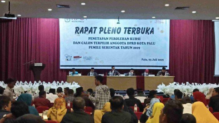 Kerja MK Masih Menumpuk Jadi Alasan BRPK Anggota DPRD Kota Palu Terpilih Lambat Dikeluarkan