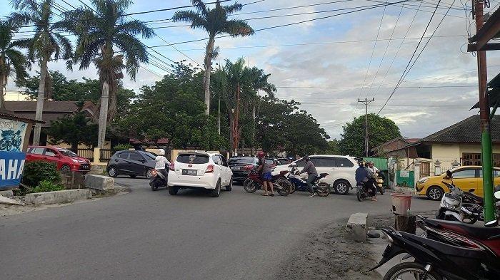 Beberapa Jalan di Palu Terjadi Kemacetan, Ini Penyebabnya