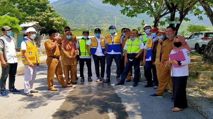 Hampir 3 Tahun Tak Diperbaiki Pasca TrioBencana 2018, Jalan di Kelurahan Duyu akan Direkonstruksi