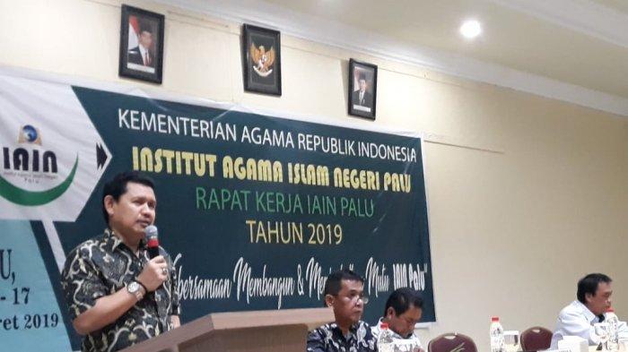 Rektor IAIN Palu Sebut Ramadan Momentum Bentuk Pribadi Jadi Lebih Baik