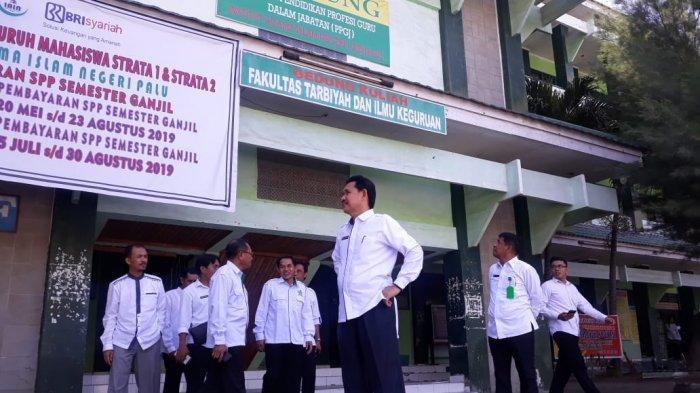 Hari Pertama Kerja Pasca Idulfitri 1440 H, Rektor Sidak Kehadiran Pejabat dan ASN di IAIN Palu