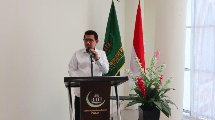 Rektor UIN Datokarama Imbau Mahasiswanya Tak Ragu Divaksinasi Covid-19