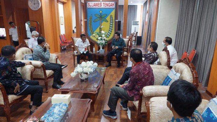 Rektor Prof Saggaf Bertemu Gubernur Sulteng, Bahas Sarana Prasaran Kampus UIN Datokarama Sigi
