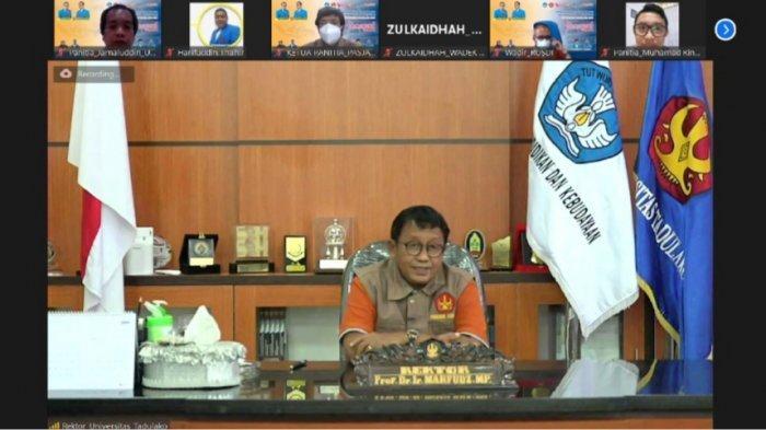 8.930 Mahasiswa Baru Universitas Tadulako Ikut Pengenalan Kampus via Daring