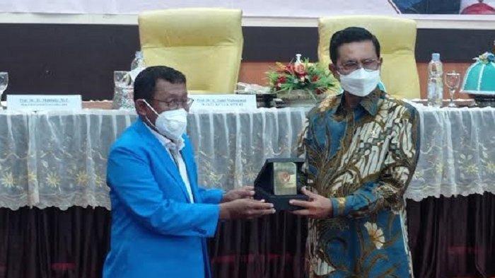 Bertemu Wakil Ketua MPR RI, Rektor Untad Minta Rekonstruksi Pascagempa Segera Tuntas