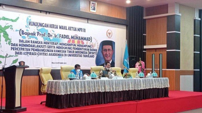 Rektor Untad Terima Kunjungan Wakil Ketua MPR RI, Bahas Pembangunan KTI