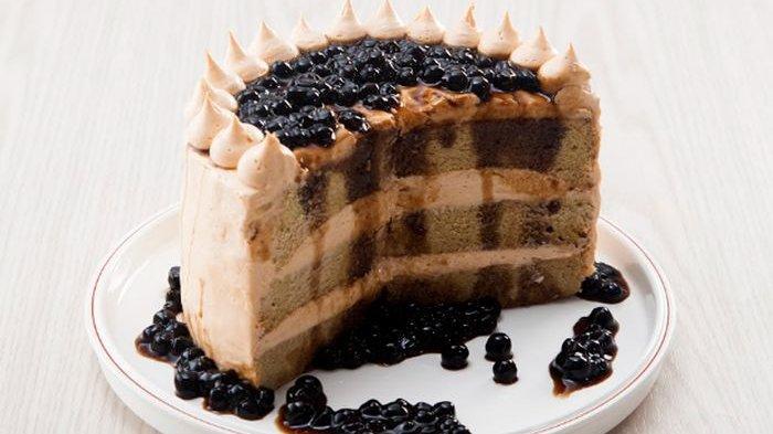 Resep Mudah dan Praktis: Cake Brown Sugar Boba Cocok untuk Hidangan di Rumah