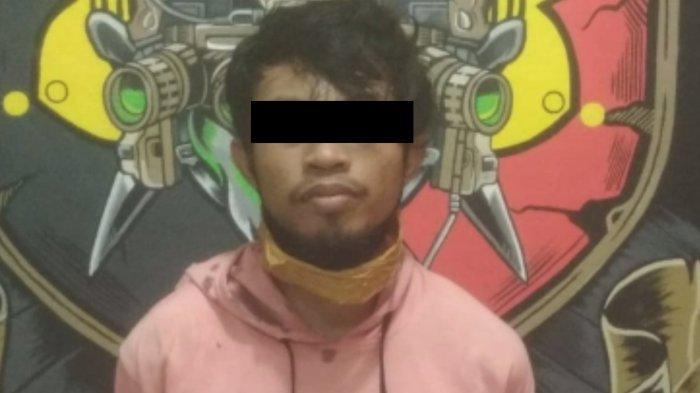 Pencuri Motor di 13 TKP Akhirnya Ditangkap Warga dan Diserahkan ke Polisi