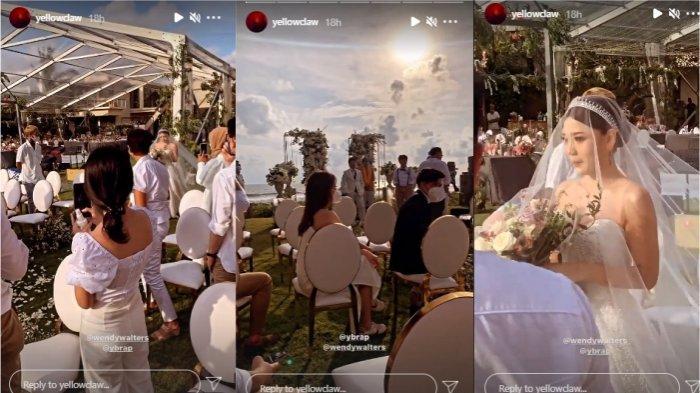 Yellow Claw hadiri pernikahan Reza Oktovian dan Wendy Walters