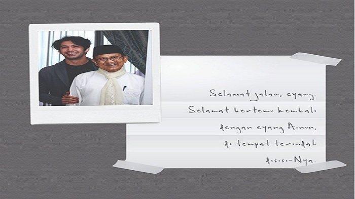 Reza Rahadian Ungkap Pesan Terakhir BJ Habibie untuk Dirinya, Ingatkan tentang Hal Ini