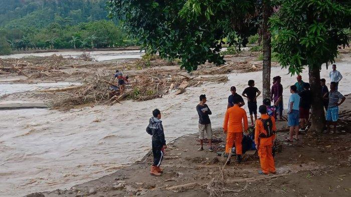 Menyeberang Sungai, Dua Warga Dampala, Morowali Hilang Terseret Arus Sungai