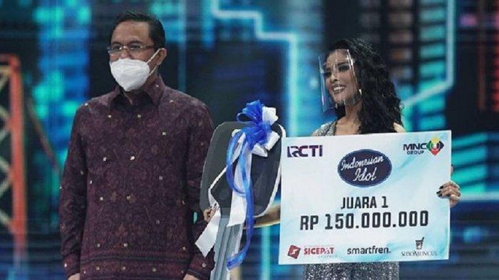 Menang Indonesian Idol 2021, Rimar Callista Bawa Pulang Hadiah Mewah Berikut